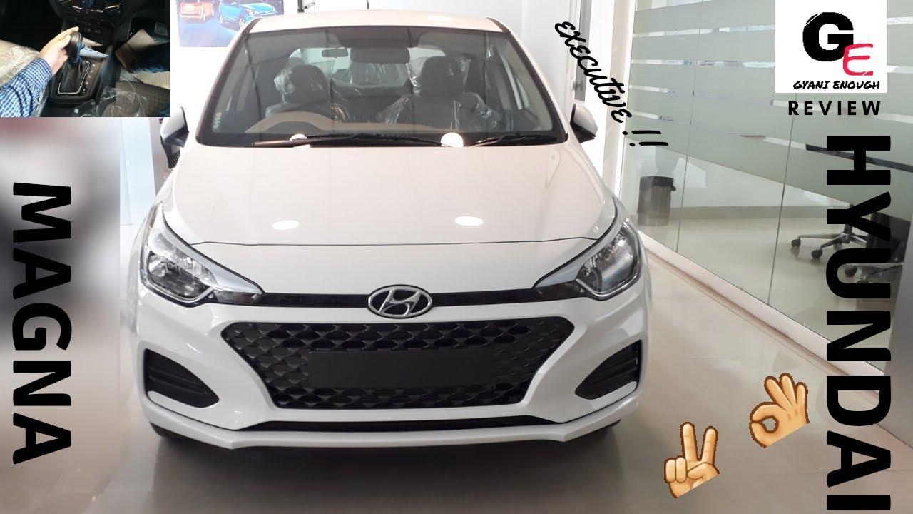 2018 Hyundai Elite I20 Cvt Magna Executive Automatic Most