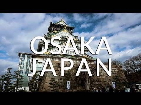 TRAVEL VLOG: THE OSAKA, JAPAN VLOG (Asia 2018 #7)
