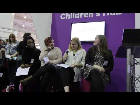 BookTube Panel at London Book Fair 2014.