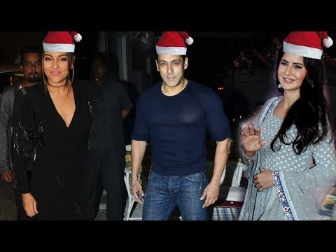 Salman Khan, Sonakshi Sinha, Katrina Kaif and Many Celebs Attend Anu Deewan Builder Christmas Party