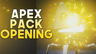 I only opened 20 APEX PACKS in Apex Legends and THIS happened..