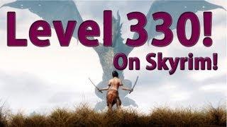 Level 330 on Skyrim - any platform - Guide No Mods!