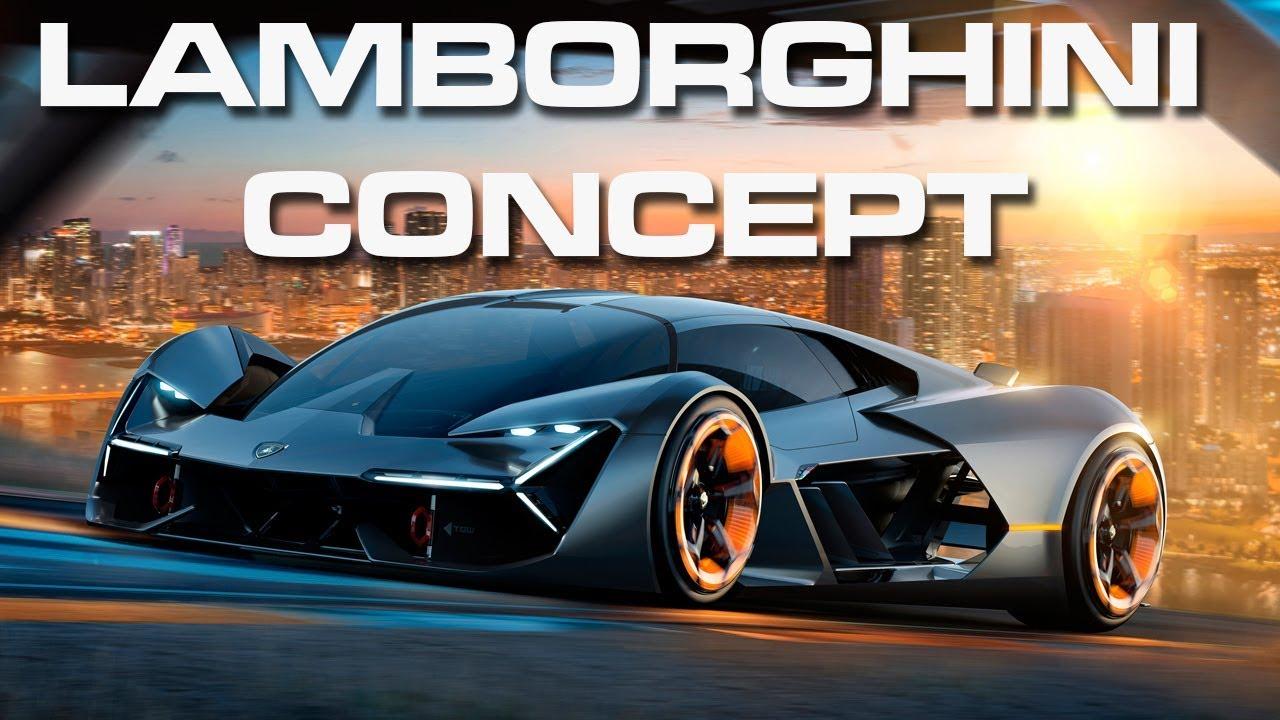 Lamborghini Terzo Millennio Concept Car Youtube