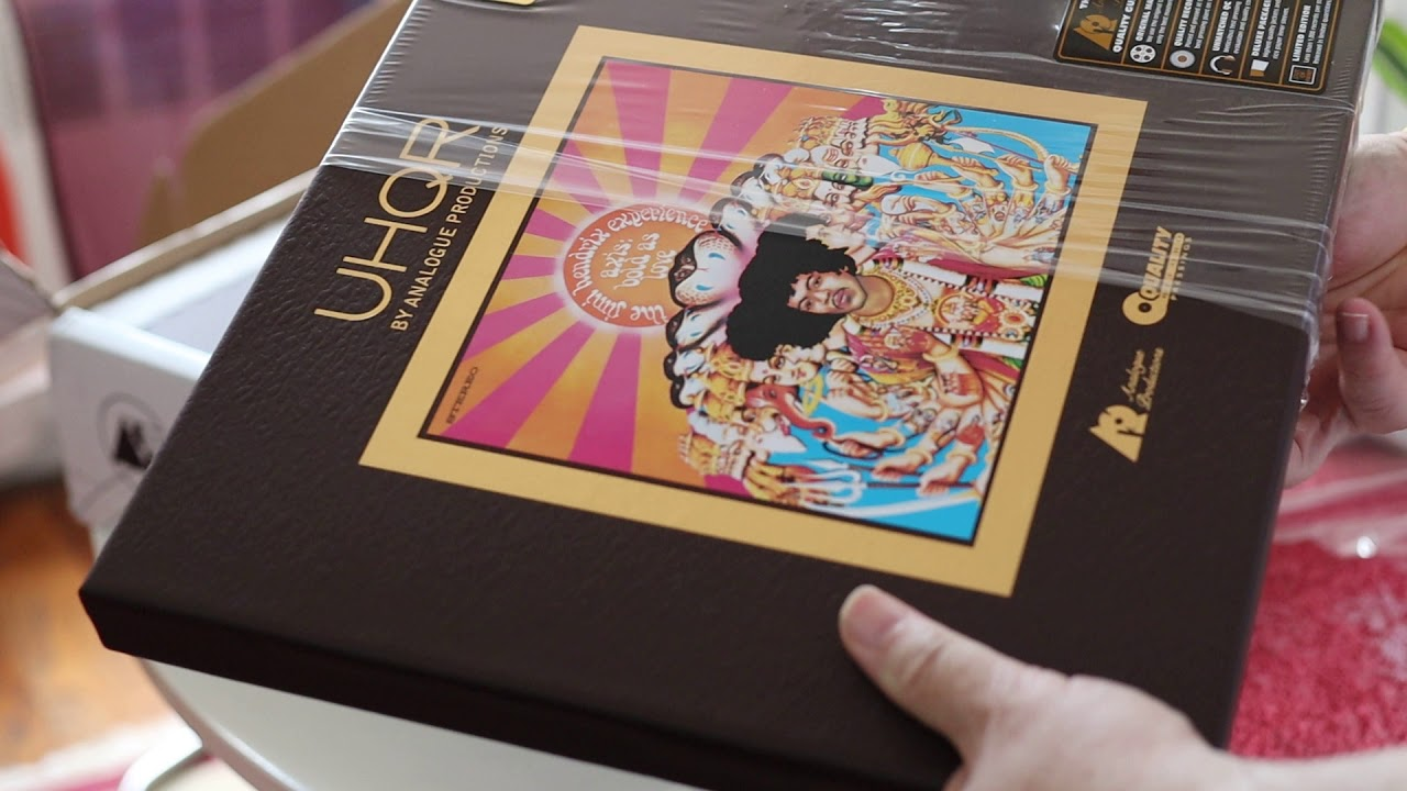 The Jimi Hendrix Experience - UHQR LP Axis: Bold As Love