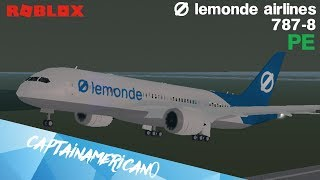 ROBLOX | Lemonde Airlines 787-8 Flight |