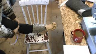 Winter Moccasin Making- Canvas Uppers Part 1/2