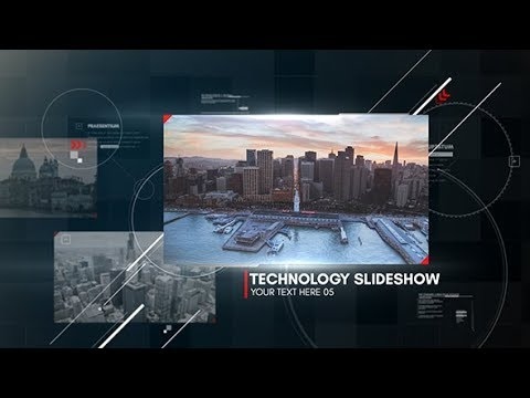 Digital Technology Slideshow | After Effects template - YouTube