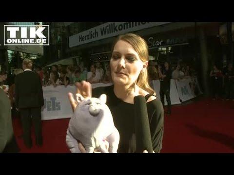 Martina Hill als Katze