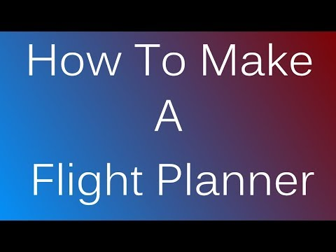 ROBLOX | How to Make an Airline Flight Planner | NO SCRIPTING INVOLVED