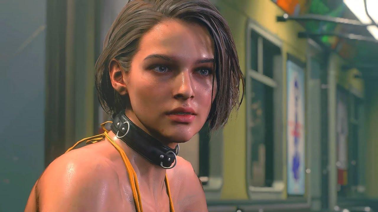 Resident Evil 3 Remake - Nightmare (Jill Black Bikini