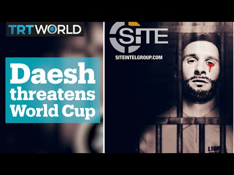 Pro-Daesh poster threatens attack at FIFA World Cup 2018