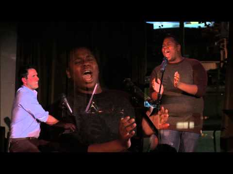 Glee's Alex Newell singing 'And There It Is' by Scott Alan at Rockwell, March 11, 2012