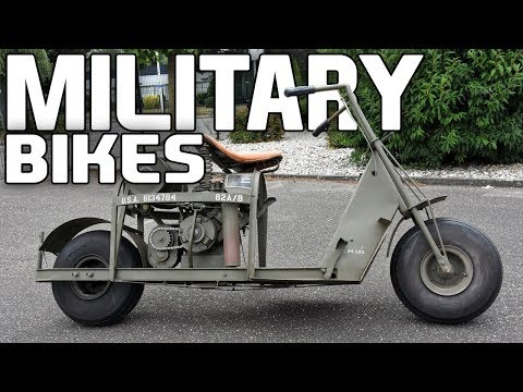 10 Awesome Military Bikes Which Appeared In World War 2