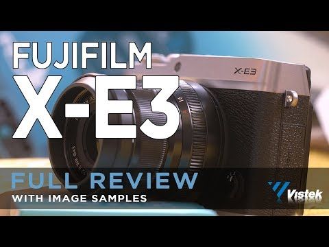 FUJIFILM X-E3 HANDS ON FULL REVIEW
