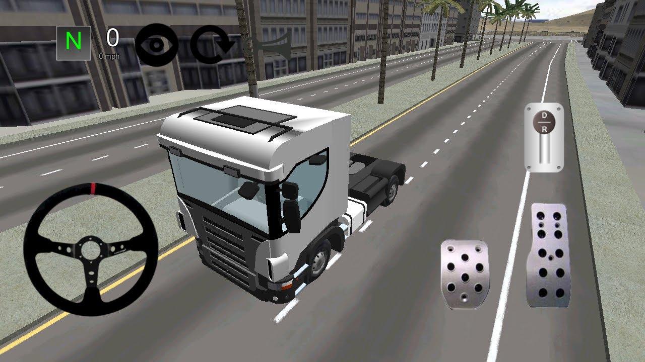 Truck simulator android gameplay truck simulator games free.