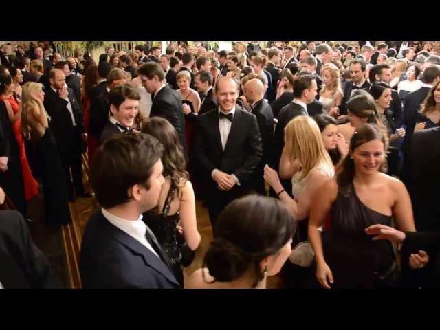 Alles Walzer Vienna Rathaus Ball Midnight Quadrille 2014