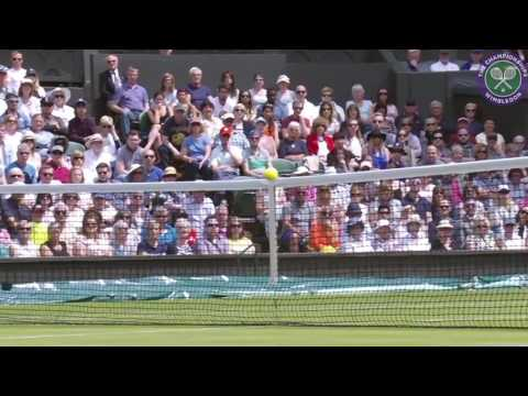Wimbledon in numbers - Day 1