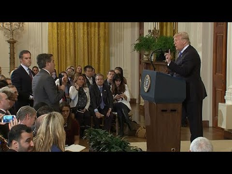 Trump holds heated press conference after midterm results