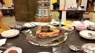 제주 흑돼지 삼겹살 세모녀 회식  | 삼성동 맛집 흑돈…