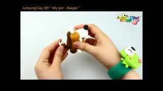 Jumping Clay Tutorial - How To Make A Beagle