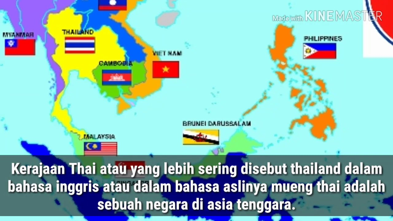 Gambar Negara Thailand Adalah Yuk Kenali Karakteristik Negara Thailand Youtube