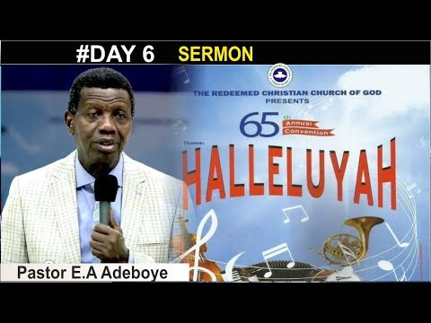 Pastor E.A Adeboye Sermon @ RCCG August 2017 Holy Communion Service