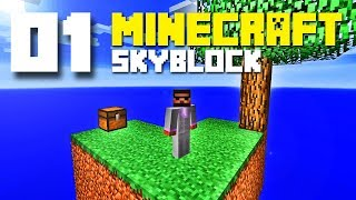PG | Minecraft Skyblock E01 - Challenge accepted!