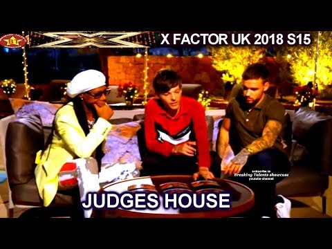 Judges Deliberation Louis Tomlinson Liam Payne & Nile Rodgers The Boys Judges House X Factor UK 2018 Mp3