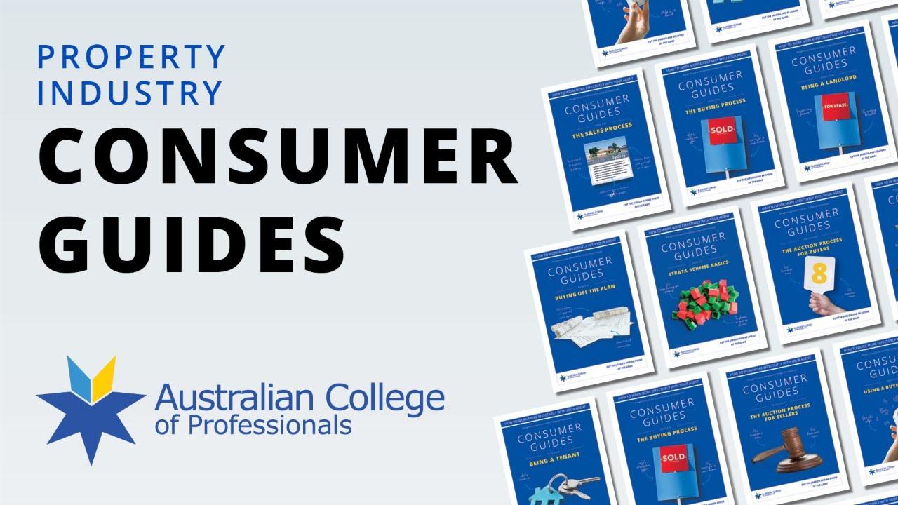 Consumer Guides | Australian College of Professionals