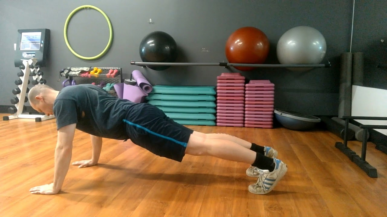 The Push Back Push-Up Exercise Guide - Get Strong