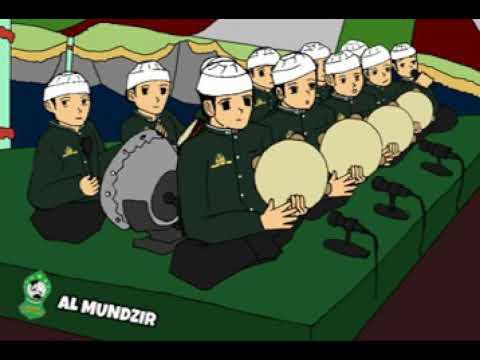 Ilahi Nas Aluk Hadroh Al Mundzir 2d Animation
