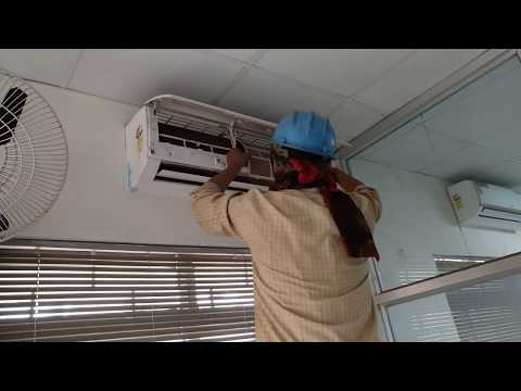 How to clean Split AC filter for effective cooling. Anyone can do this. NO NEED TO CALL TECHNICIAN.