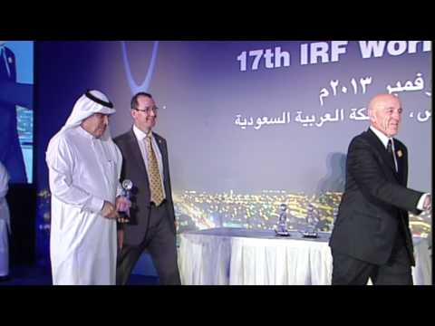 2013 GRAA Ceremony at the 17th IRF World Meeting & Exhibition