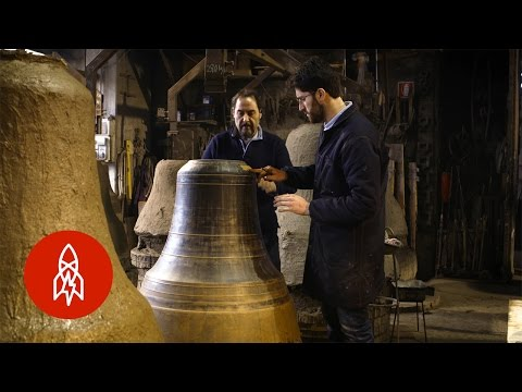 Handcrafting Papal Bells with Italy's Oldest Family Business