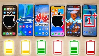 iPhone 12 Pro Max vs NOTE 20 Ultra, Mate 40 Pro, 11 Pro Max, ViVo X51, TEST DE BATERIA EXTREMO!!