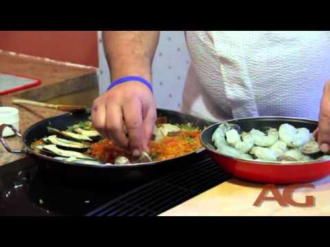 Cooking Arroz Con Mariscos (Seafood Rice) With Chef Alex Garcia