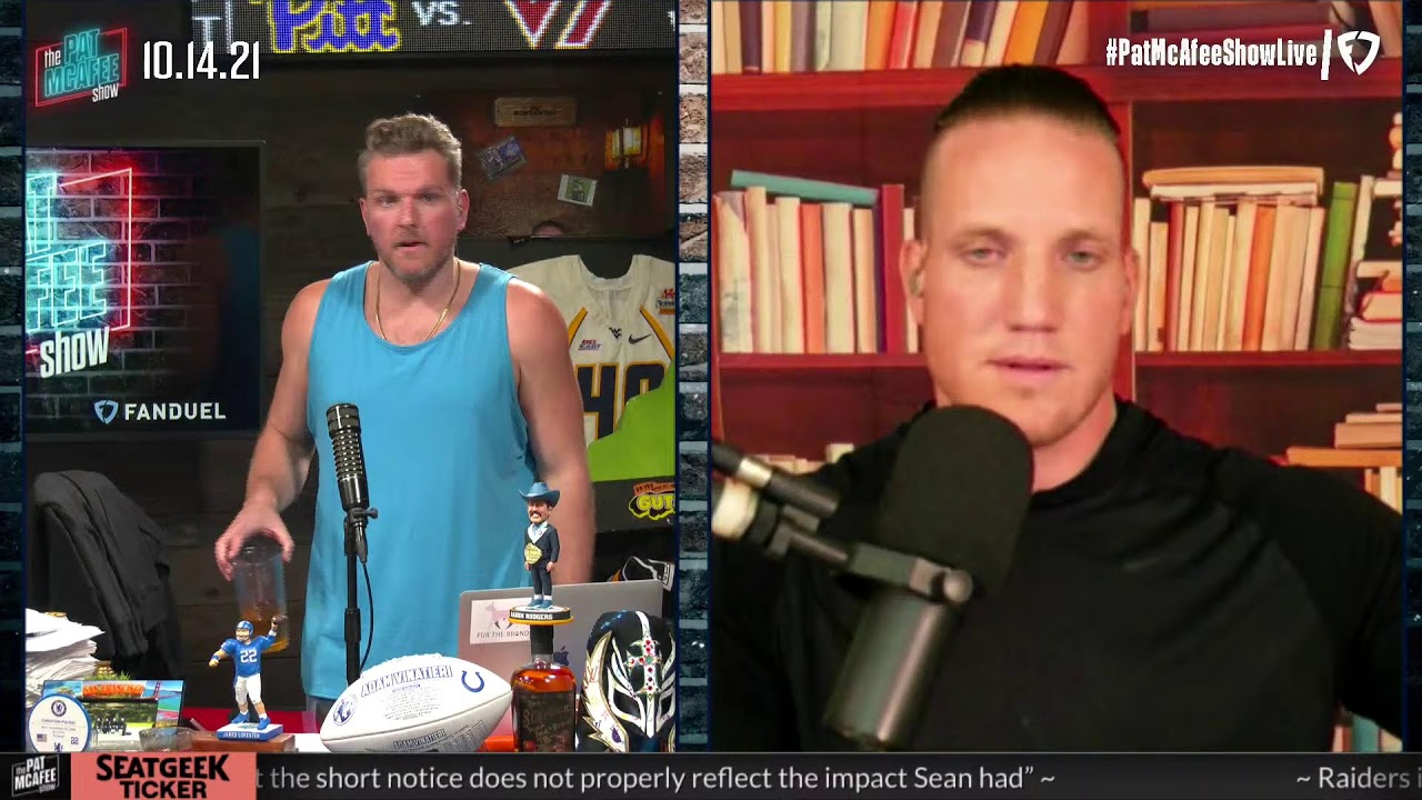 Download The Pat McAfee Show   Thursday October 14th, 2021