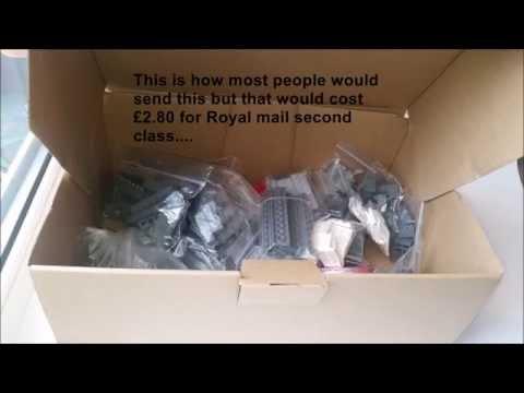 Cheaper UK postage on online sales (Ebay/Bricklink)