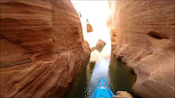 Paddleboarding the Canyons at Lake Powell