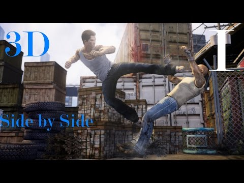 3D Fights: Martial Arts Club I (Sleeping Dogs) (3D for PC/3D phones/3D TVs/Crossed Eyes)