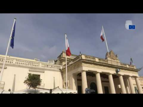 General views of the Informal meeting of Heads of State and Government in Valletta