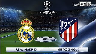 PES 2018 | Real Madrid vs Atletico Madrid | UEFA Champions League (UCL) | Gameplay PC