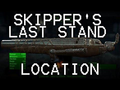 Fallout 4 Shipbreaker the unique Fog Crawler