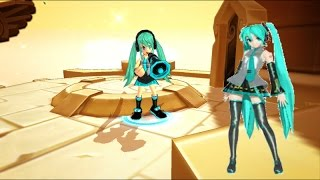 [NA] Lost Saga Gear Design - Hatsune Miku (Vocaloid)