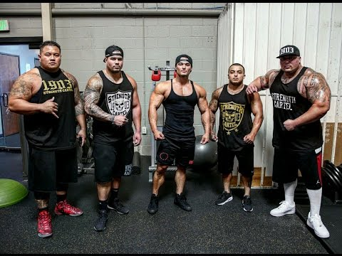 2 TIME MR. OLYMPIA JEREMY BUENDIA AND THE HEAVY HITTERS | BIG CHEST WORKOUT -BIG BOY