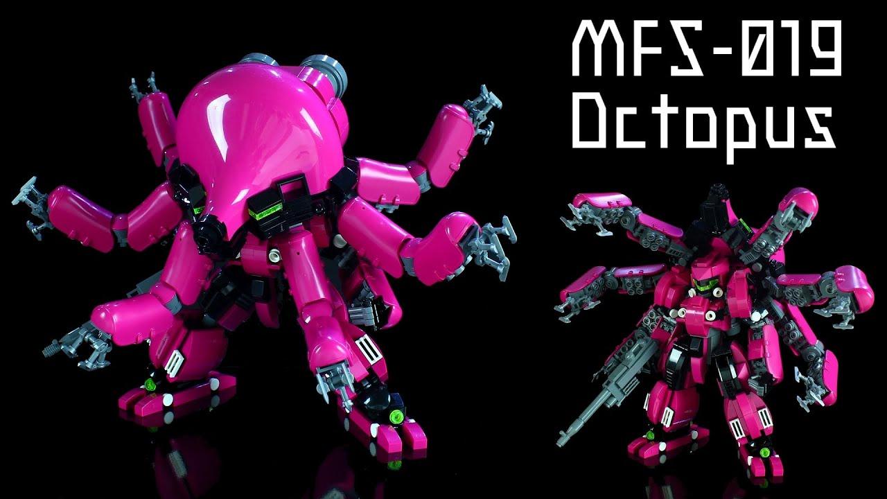 LEGO Transform mech / MFS-019 Octopus