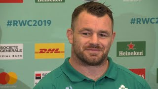 Ireland's Cian Healy on Quarter-final against All Blacks