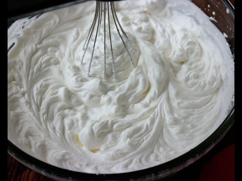 WHIPPED CREAM IN MALAYALAM / WITH COCONUT MILK/ BY MRS MALABAR