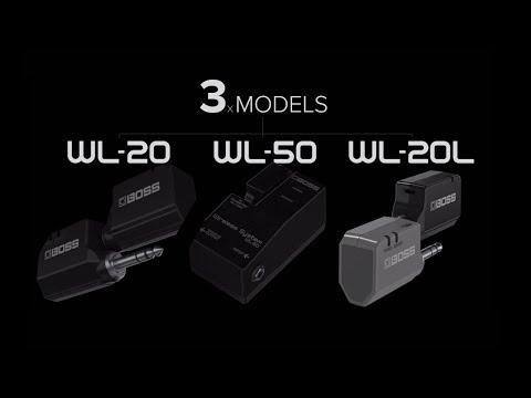BOSS WL-Series Wireless System (WL-20/WL-20L/WL-50)