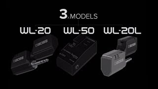 BOSS WL-Series Wireless System (WL-20/WL-20L/WL-50)